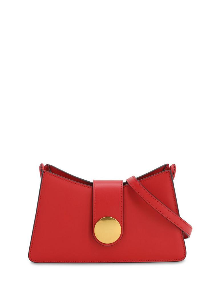 ELLEME Baguette Smooth Leather Bag in red