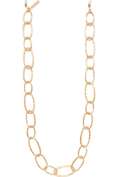 STAUD - Gold-tone Sunglasses Chain