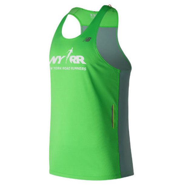 New Balance 63222 Men's Run for Life NB Ice Singlet - Green (MT63222VVCP)