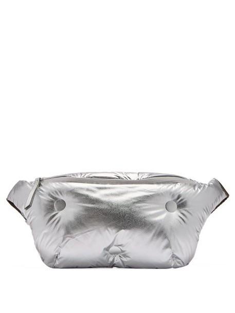 Maison Margiela - Glam Slam Leather Belt Bag - Womens - Silver