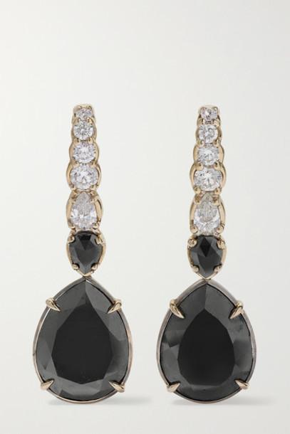 Ara Vartanian - 18-karat White Gold Diamond Earrings