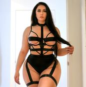 underwear,high waisted,straps,bustier,garter,sleeveless