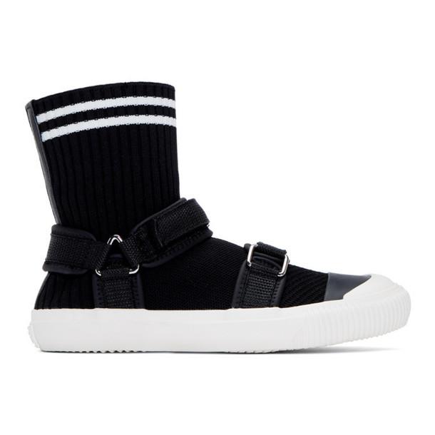 Ys Black Sock Sneakers