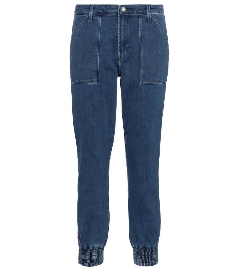J Brand Arkin cotton-blend jeans in blue