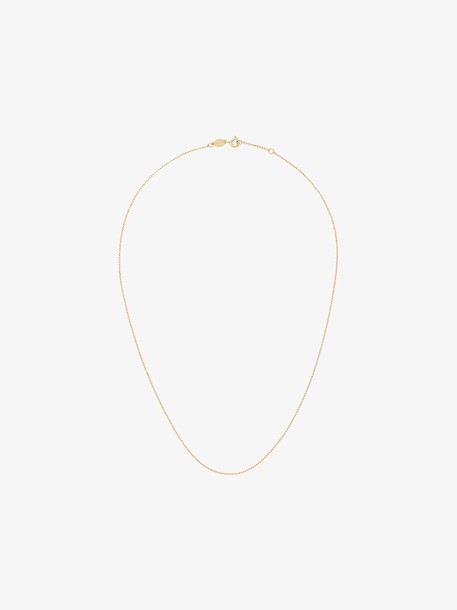 Anni Lu 18k gold plated silver Cross Chain 45 Necklace