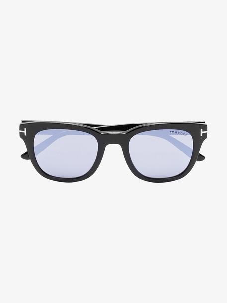 Tom Ford Eyewear black Eugenio square sunglasses