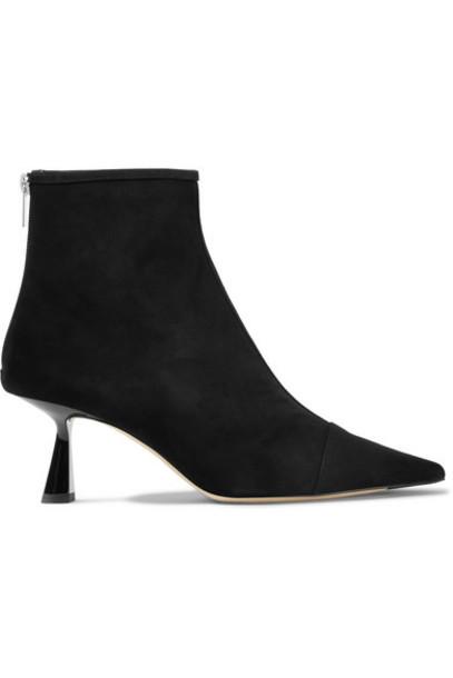 Jimmy Choo - Kix 65 Suede Ankle Boots - Black