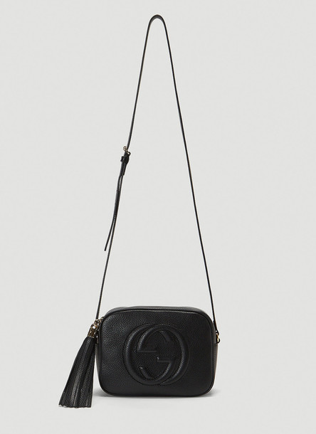 Gucci Soho Small Shoulder Bag in Black size One Size