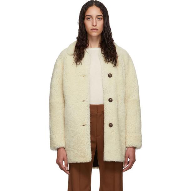 Isabel Marant Reversible Off-White Sarvey Coat