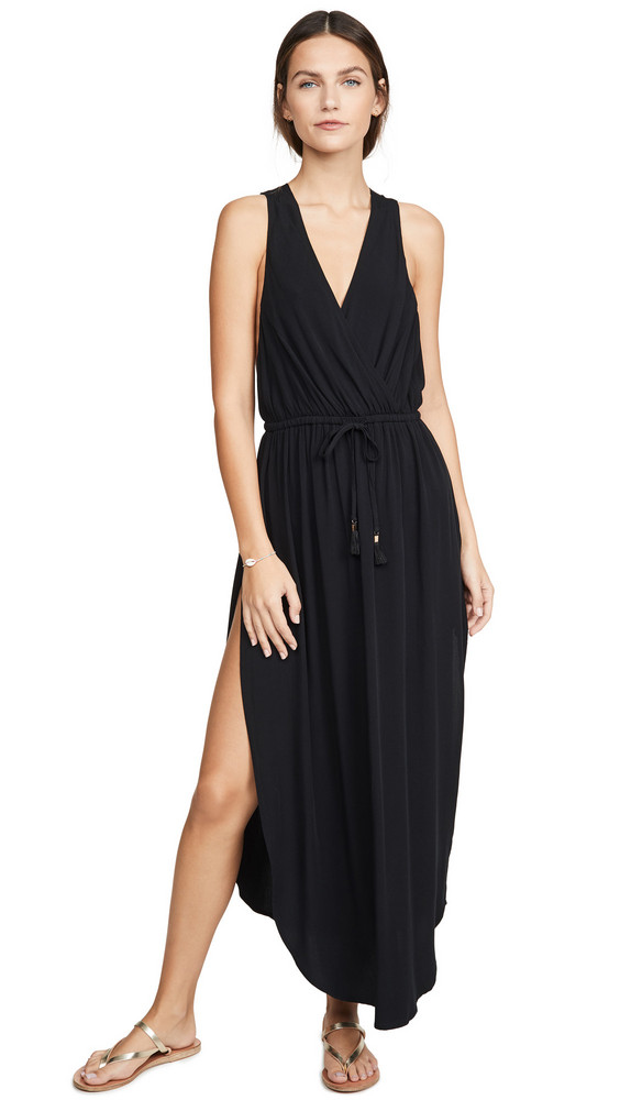 LSpace L*Space Kenzie Cover Up Dress in black