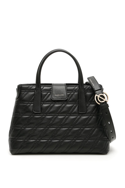 Zanellato Zeta Duo Metropolitan S Bag in black