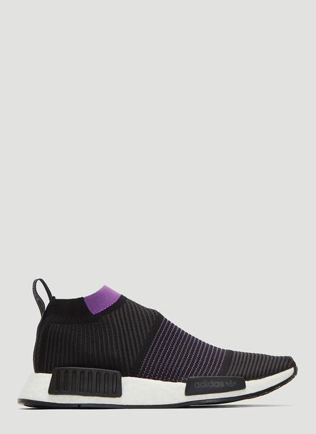 Adidas NMD CS1 Primeknit Sneakers in Black size UK - 06