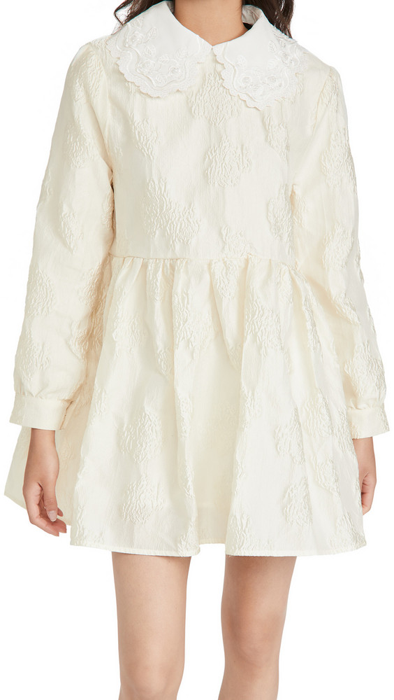 Sister Jane Beauty Queen Mini Dress in ivory