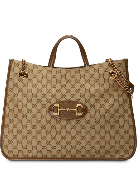 Gucci 1955 Horsebit tote bag in neutrals