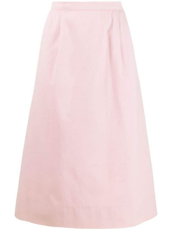 Valentino Pre-Owned 1980s pencil skirt in pink