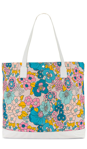Dodo Bar Or Litta Canvas Tote in Pink,Orange