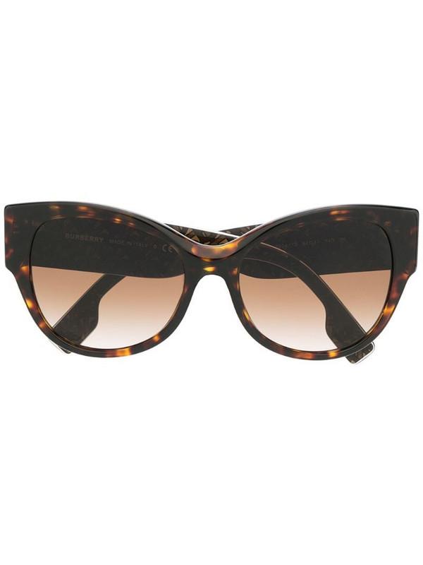 Burberry Eyewear 0BE4294390413 cat eye-frame sunglasses in brown