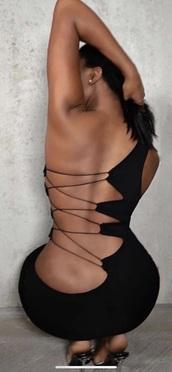 dress,detailed back,little dress,black dress,open back,open back dresses,detailed,little black dress