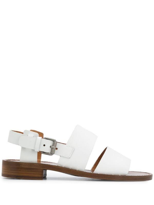 Church's Dalia leather sandals in white