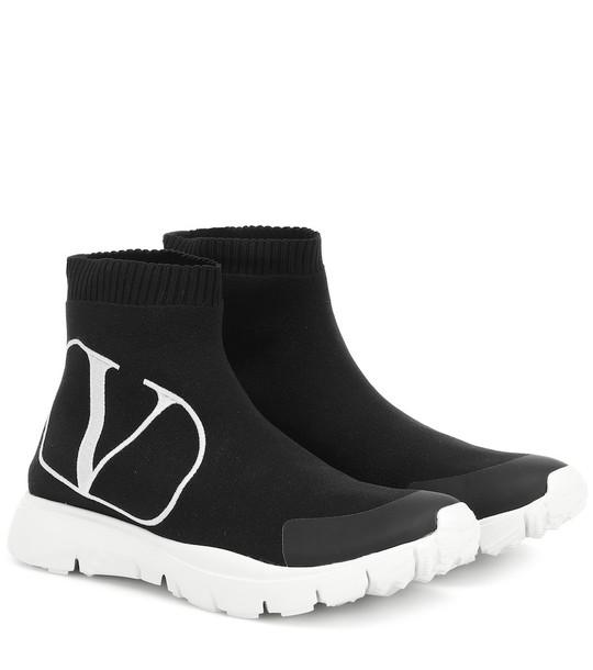 Valentino Garavani VLOGO sneakers in black