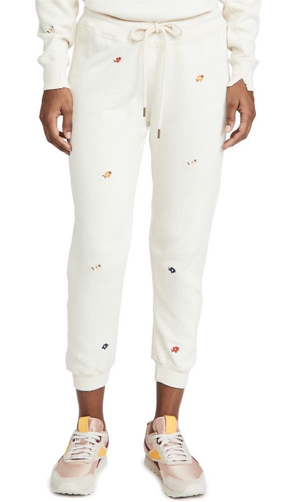 THE GREAT. THE GREAT. The Cropped Sweatpants in white