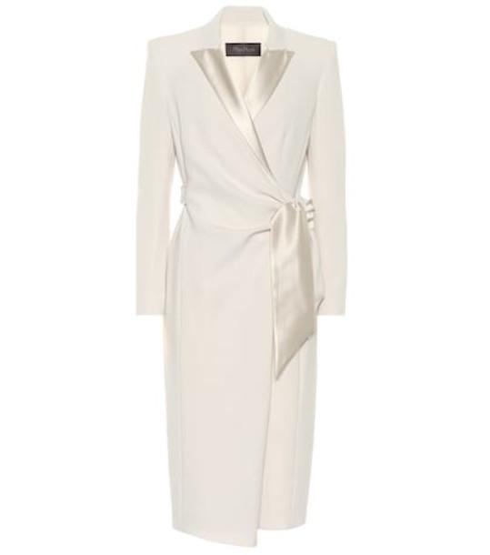 Max Mara Curve cady dress in white