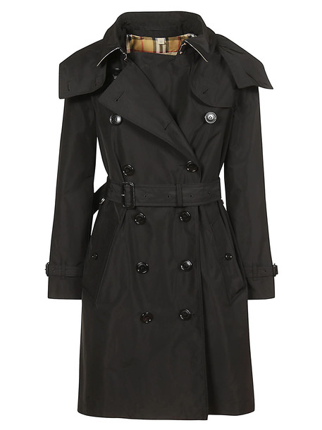 Burberry Double Breasted Trench in black