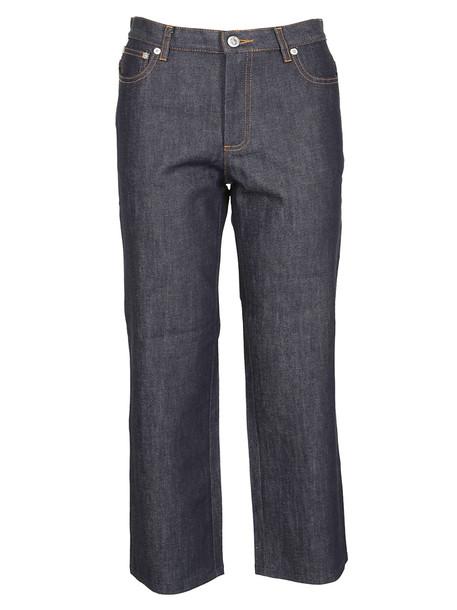 A.P.C. A.p.c. Cropped Jeans in blue