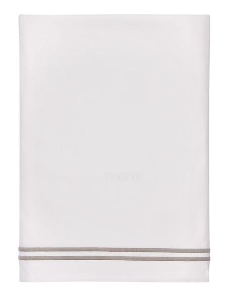 FRETTE Hotel Classic Top Sheet in grey / white