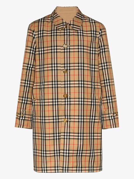 Burberry reversible Vintage Check overcoat