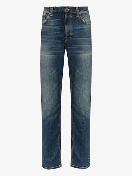 Nudie Jeans Co Lean Dean Indigo slim leg jeans