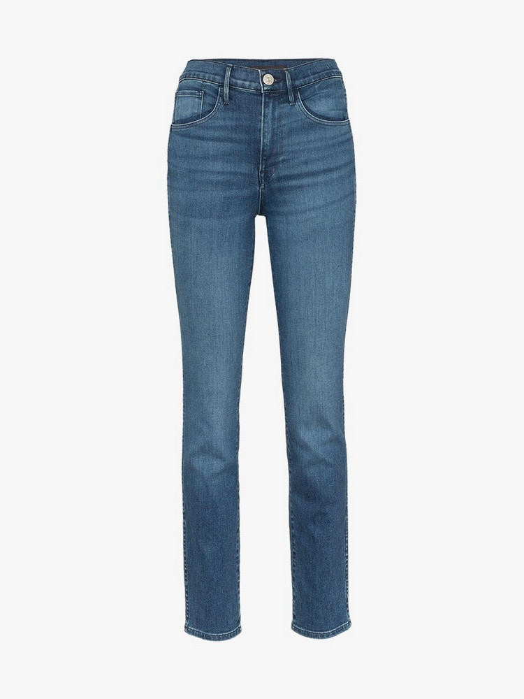 3x1 W3 authentic skinny jeans in blue