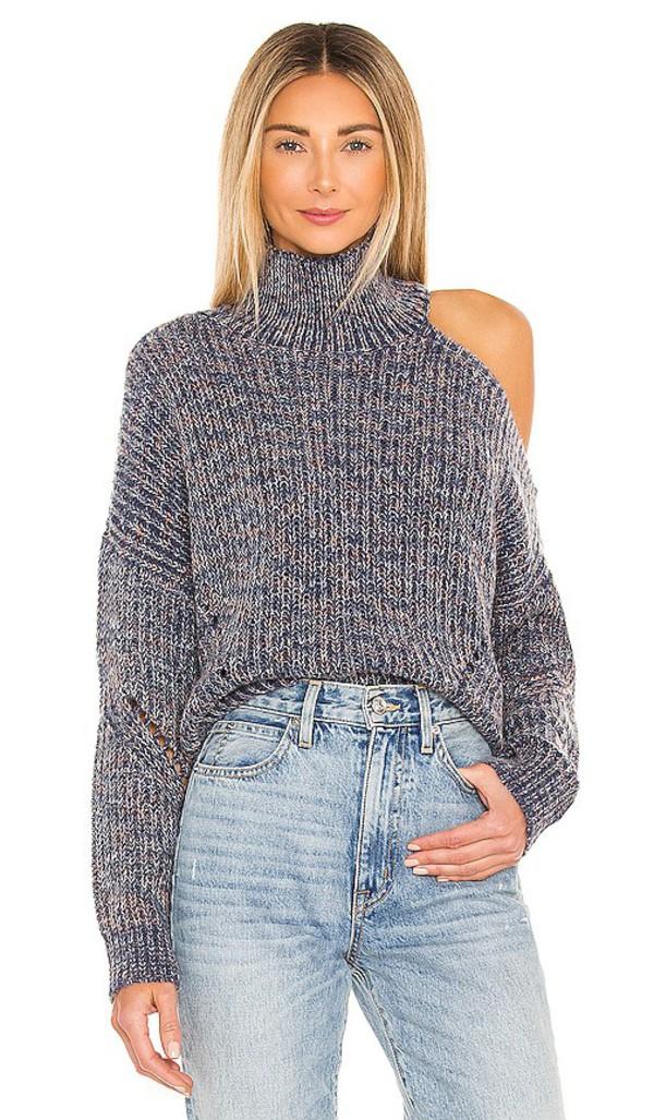 Lovers + Friends Lovers + Friends Adelite Sweater in Blue in multi