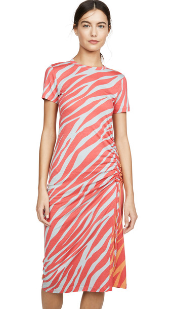 Rag & Bone Ina Dress in red / multi