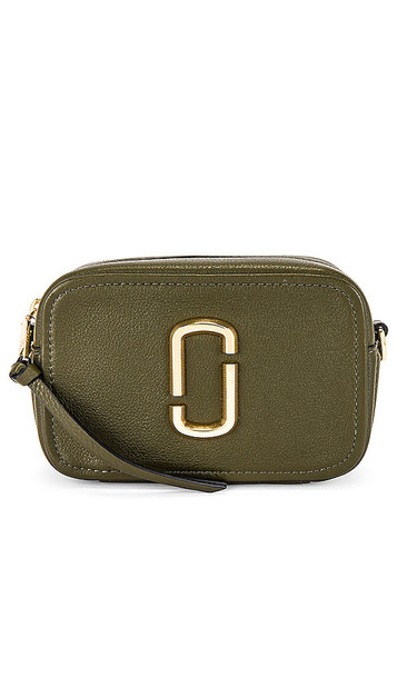 Marc Jacobs The Softshot 17 Bag in Green