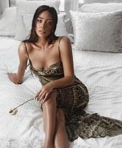 dress,long dress,sexy,python,girl,clubwear,party,bodycon,sleeveless,sleeveless dress,bodycon dress
