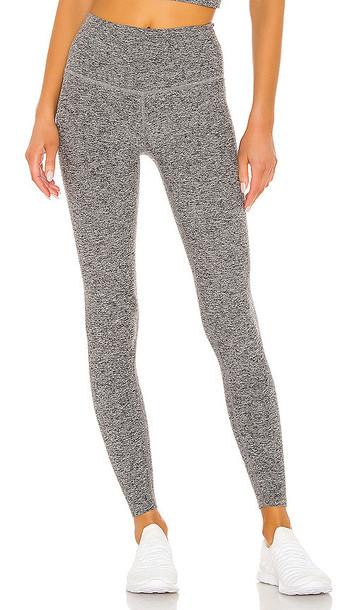 Beyond Yoga Take Me Higher Legging in Gray