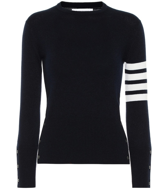 Thom Browne Cashmere sweater in blue