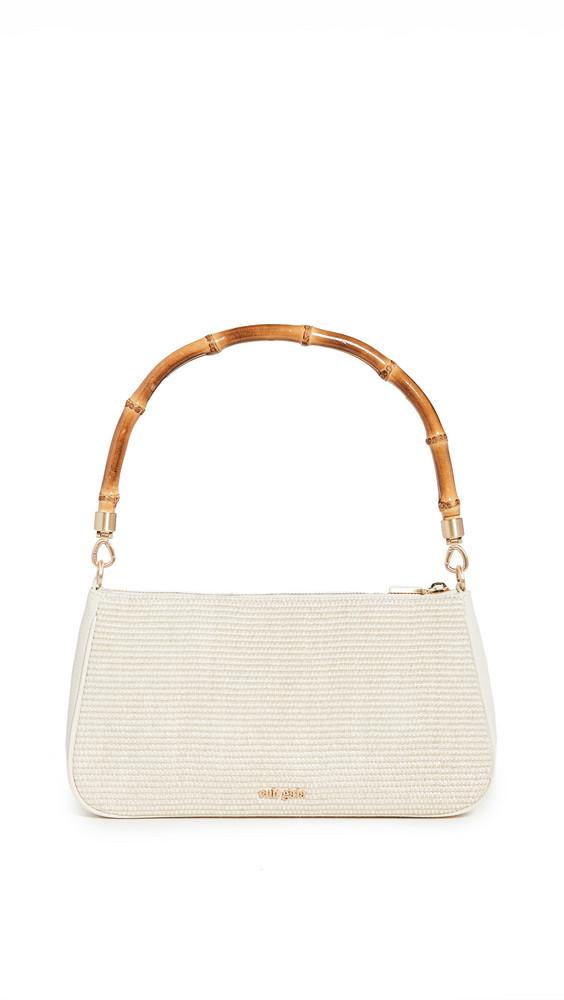 Cult Gaia Halina Shoulder Bag in cream