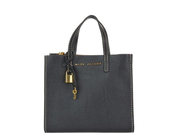 Marc Jacobs Mini Grind Bag in black / gold