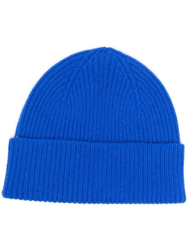 Le Bonnet ribbed-knit beanie in blue