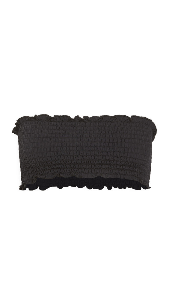 Reformation Tide Bikini Top in black