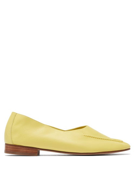 Hereu - Juliol Leather Loafers - Womens - Yellow