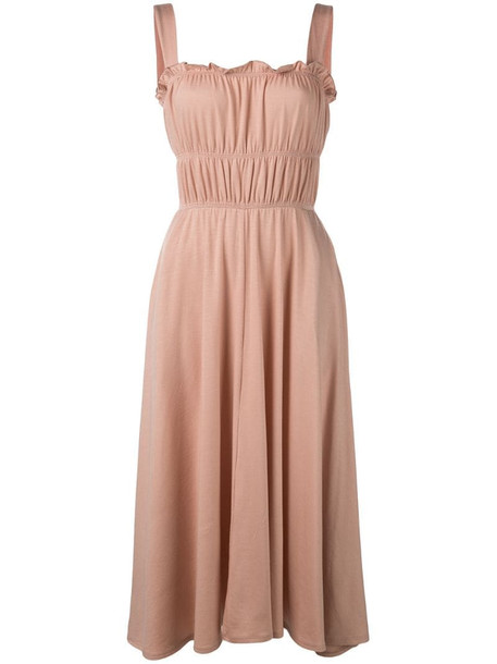 Reformation Miranda dress in pink