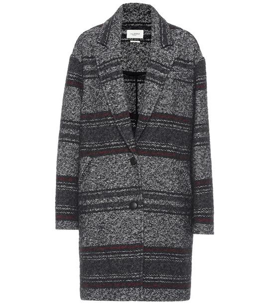 Isabel Marant, Étoile Dante wool-blend coat in black