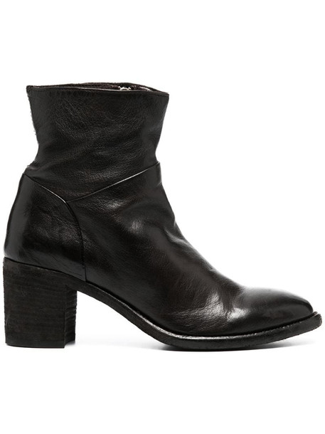 Officine Creative slouch ankle boots in brown