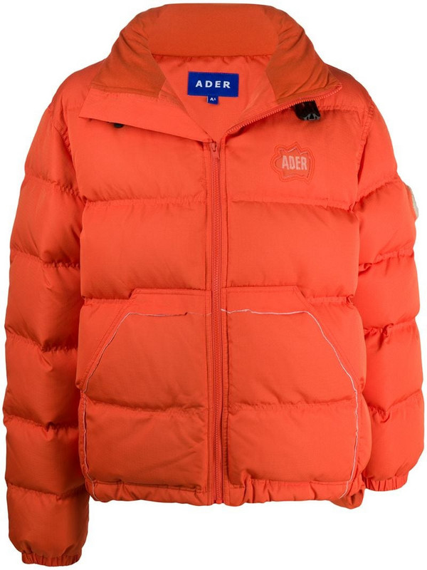 Ader Error padded jacket in orange