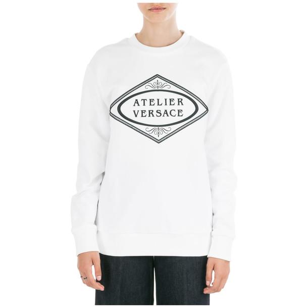 Versace Sweatshirt in bianco