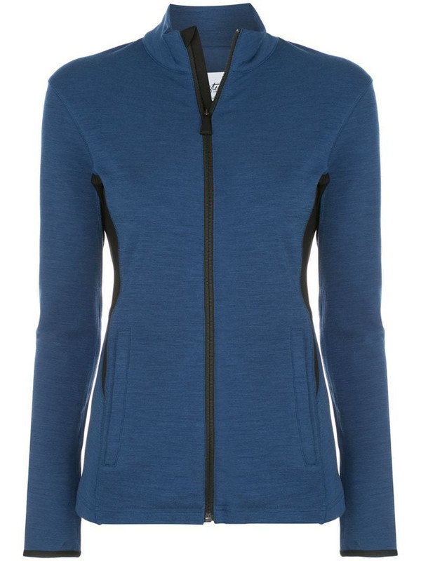 Aztech Mountain Bonnie's zipped sweatshirt in blue