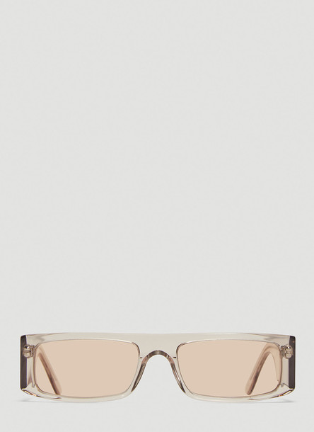 Andy Wolf Hume Sunglasses in Beige size One Size